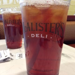 Photo taken at McAlister's Deli by Kelle J. on 6/11/2014