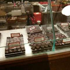 Photo taken at Jacques Torres Chocolate by Jake Z. on 2/13/2013
