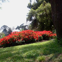 Photo taken at Parque Rivadavia by Lua M. on 11/4/2012