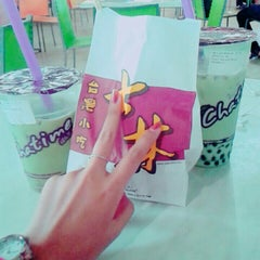 Photo taken at Food Court Margo City by Maya A. on 9/1/2015