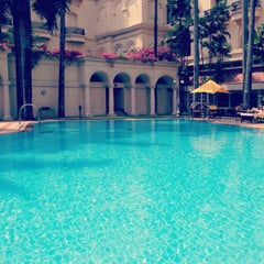 Photo taken at The Oberoi Grand by Lukas G. on 4/20/2014