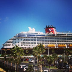 Photo taken at Port Canaveral by Vince L. on 1/13/2013