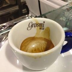 Photo taken at Caffè Grosmi by Csaba H. on 12/30/2012