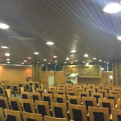 Photo taken at Sinagoga da Hebraica by Jose Luiz G. on 4/10/2015