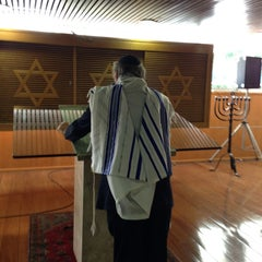 Photo taken at Sinagoga da Hebraica by Jose Luiz G. on 6/1/2013