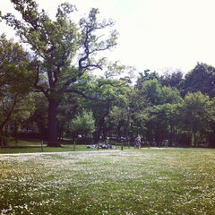Photo taken at Bois de Boulogne by Sandra B. on 5/5/2013