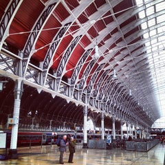 Photo taken at London Paddington Railway Station (PAD) by Margot B. on 4/11/2013