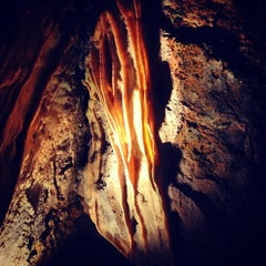 Photo taken at Crystal Cave by Discover Lehigh Valley on 9/14/2013