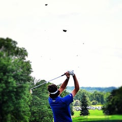 Photo taken at Merion Golf Club by David D. on 6/16/2013