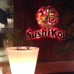 Photo taken at Sushi Koi by Alma D. on 10/19/2013