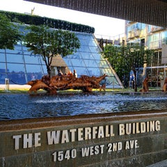 Photo taken at Waterfall Building by Ashley S. on 5/7/2015