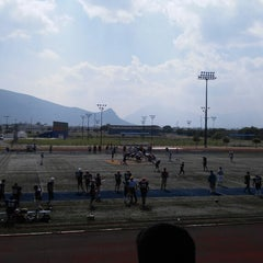 Photo taken at Polideportivo Tigres UANL by Emmanuel M. on 6/13/2015
