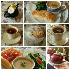 Photo taken at Cozy Tea by Kerry C. on 3/11/2016
