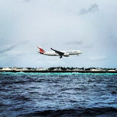 Photo taken at Ibrahim Nasir International Airport (MLE) by Ibrahim M. on 6/16/2013