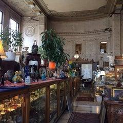 Photo taken at vintage bank antiques by Cheryl B. on 3/28/2014