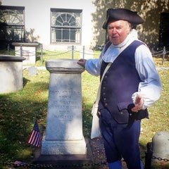 Photo taken at Paul Revere's Tomb by HTEDance on 9/23/2014