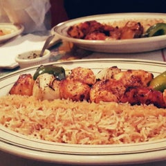Photo taken at Sansom Kabob House by Bedour B. on 4/12/2014