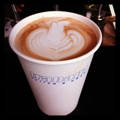 Photo taken at Trabant Coffee & Chai by Jessica O. on 4/3/2012