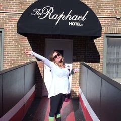 Photo taken at The Raphael Hotel, Autograph Collection by Hank Funk on 11/2/2013