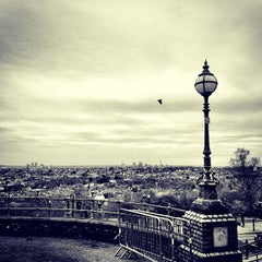 Photo taken at Alexandra Palace by Rory C. on 5/4/2013