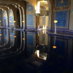 Photo taken at Hearst Castle Roman Pool by James R. on 5/24/2014