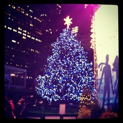 Photo taken at Bank of America Winter Village at Bryant Park by Clifton on 1/10/2013
