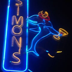 Photo taken at Simon's Tavern by Gino G. on 12/29/2014