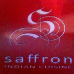 Photo taken at Saffron Indian Cuisine by Matt R. on 2/2/2013