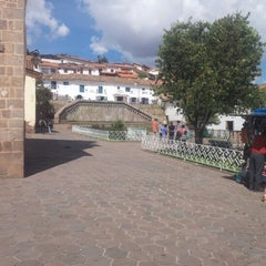 Photo taken at Plaza de San Blas by Christian D. on 11/15/2012