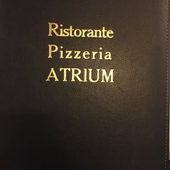 Photo taken at Ristorante Pizzeria Atrium by ome👸 on 4/23/2015