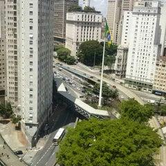 Photo taken at Edifício Praça da Bandeira by Thiago B. on 1/21/2014