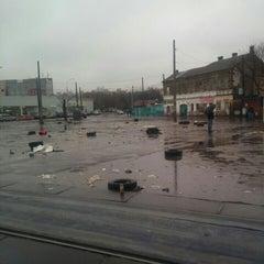 Photo taken at Трамвайна станція «Семена Скляренка» by Владимир С. on 11/21/2015