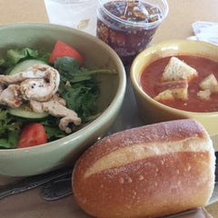 Photo taken at Panera Bread by Louise P. on 7/9/2014