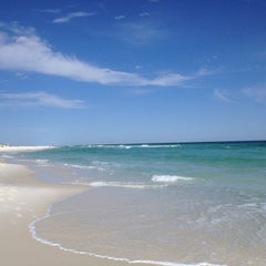 Photo taken at Navarre Beach by Merrie F. on 4/13/2013