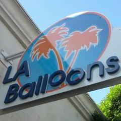 Photo taken at LA Balloons by Patrick K. on 10/31/2012