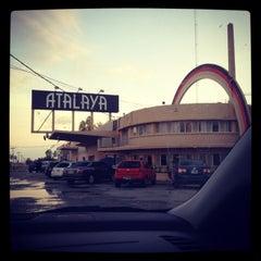 Photo taken at Parador Atalaya by Mercedes M. on 1/24/2013