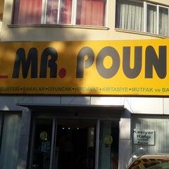 Photo taken at Mr. Pound Girne by TC Ozan I. on 11/22/2014