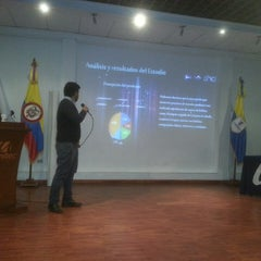 Photo taken at Corporación Universitaria UNITEC by Rodrigo G. on 6/4/2014