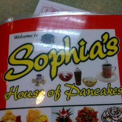 Photo taken at Sophia's House of Pancakes by James E. on 3/24/2013