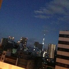Photo taken at 上野 サットンプレイスホテル (Ueno Sutton Place Hotel) by Pla r. on 12/31/2012