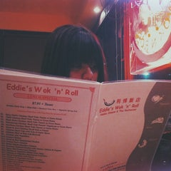 Photo taken at Eddie's Wok 'n' Roll by Waqas S. on 1/4/2014