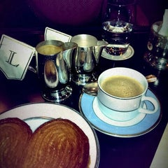 Photo taken at Ladurée by Lena on 9/27/2015