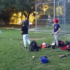 Photo taken at Springwoods Park by Mindy M. on 10/14/2014