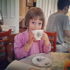 Photo taken at Teaberry's Tea Room by Leonid D. on 7/26/2014