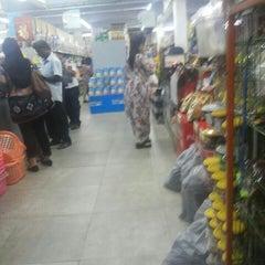 Photo taken at Pasar Raya Relax Mart by Mafize I. on 11/23/2015