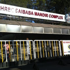 Photo taken at Shirdi Sai Baba Temple (Samadhi Mandir) by Aparajit B. on 1/12/2013