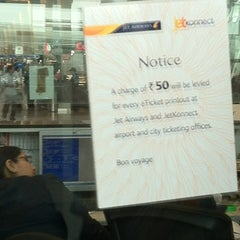 Photo taken at Jet Airways Checkin by Ankit M. on 6/11/2012