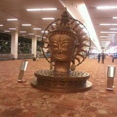 Photo taken at Terminal 3 by Siddarth R. on 5/6/2012