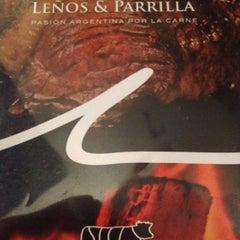Photo taken at Leños & Parrilla by RICARDO G. on 7/21/2012