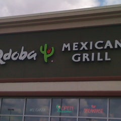 Photo taken at Qdoba Mexican Grill by Taylor H. on 3/18/2012